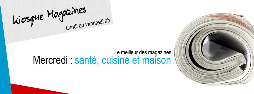 KIOSQUE MAGAZINES | Santé, cuisine et maison