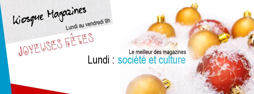 KIOSQUE MAGAZINES | Société et culture