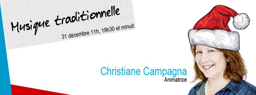 MUSIQUE TRADITIONNELLE QUÉBÉCOISE  Christiane Campagna