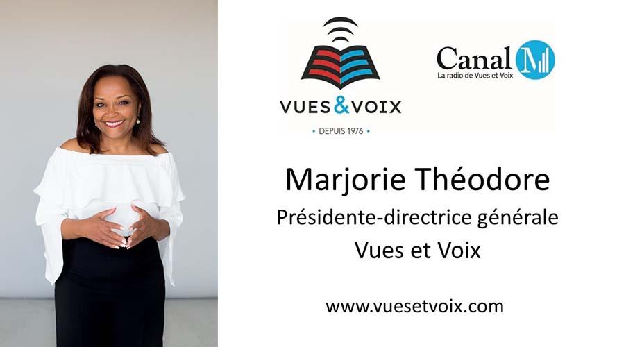 Marjorie Théodore, Présidente-directrice générale de Vues et Voix